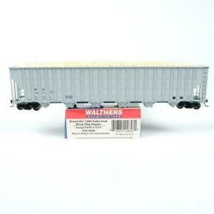 Walthers HO Georgia Pacific GPSX Greenville Wood Chip Hopper w/ Load 932-5688