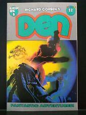 DEN #8 Richard Corben, Fantagor, Horror, 1988, Sci-Fi FN