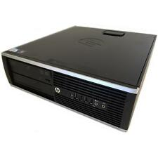 HP pc Elite 8000 sff pc de bureau Core 2 duo e8400 2x 3,0ghz 4gb ram 250gb HDD w7p