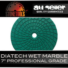 "DIATECH - 7"" / 175mm Wet Marble Diamond Polishing Pad Disc Wheel"