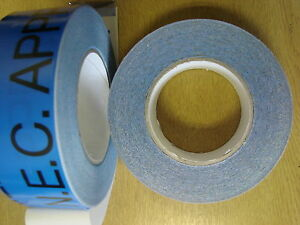 8 ROLLS NEC APPROVED EXHIBITION TAPE 48MM X 50M