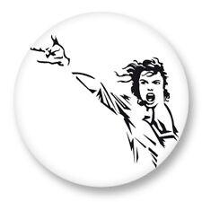 Pin Button Badge Ø38mm Michael Jackson King of Pop MJ Bad Billie Jean