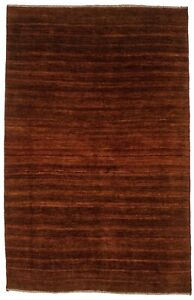 Hand-Knotted Tribal Design 4X6 Plush Modern Rug Oriental Wool Home Decor Carpet