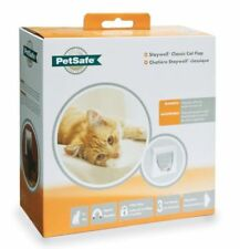 Chatière magnétique blancs PetSafe pour chat
