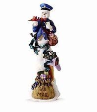 Lenox Snowman Annual Figurine Winter Special Delivery 2015 Nib