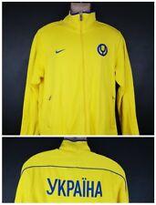 Ukraine YKPAIHA ice hockey Soccer Nike Jacket large N98 casual