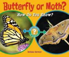 Butterfly or Moth?: How Do You Know? (Which Animal Is Which?)-ExLibrary