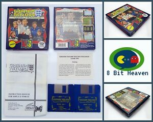 GRAHAM TAYLORS SOCCER CHALLENGE BY BUZZ FOR COMMODORE AMIGA - TESTED & WORKING