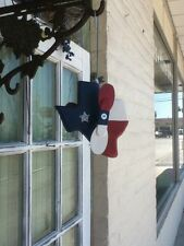 G&J's Classic Creations Texas Whirligig, Yard Art,Garden Decor,Handcrafted