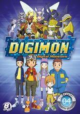 DIGIMON SEASON 4 DIGIMON FRONTIER New Sealed 8 DVD Set
