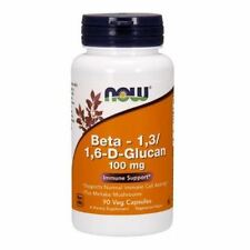 Beta Glucan, 100mg x 90VCaps, Cold/Flus, Immune Booster, Now Foods, UK Stocks