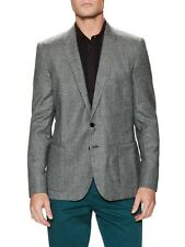 """$1350 NWT """"100% Wool"""" PS BY PAUL SMITH Men Sport Coat 44/54 Houndstooth Pattern"""