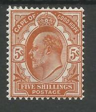 Cats Edward VII (1902-1910) British Colonies & Territories Single Stamps