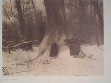 Apsaroke Winter Crow Nation 1972 Original Folio Edward S. Curtis