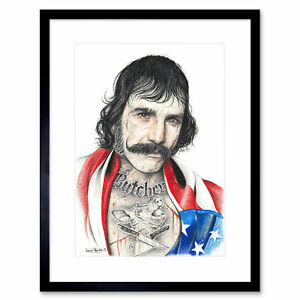Wayne Maguire Tattooed Bill The Butcher Inked Ikon Framed Art Print