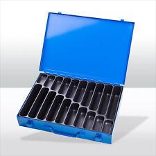 184119 Sortimentskoffer Sortimentskasten Kleinteilemagazin Kleinteilebox Metall