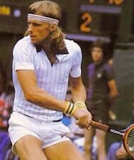 BJ Bjorn Borg Retro Tennis Sweatbands/Wristbands & Headband Fila -Fancy Dress