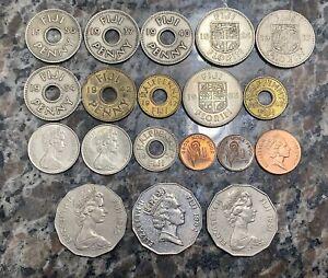Fiji 19 coin lot - Various Dates / Denominations