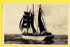 cpa FRANCE Baie de DINARD St MALO TERRE NEUVIER en MER Voilier Morutier Pêche