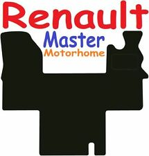 Renault Master Motorhome DELUXE QUALITY Tailored mats 2006 2007 2008
