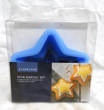Lakeland Star cottura Kit-Silicone Padelle e frese in acciaio inox-Nuovo con Scatola
