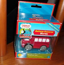Thomas & Friends Wooden Railway Battery Powered Bertie Bus NIB Learning Curve