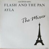 "Flash And The Pan - Ayla: The Mixes (Epic 12"" Vinyl Maxi-Single Holland 1987)"