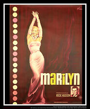 MARILYN On Linen 4x6 ft French Grande Movie Poster Original 1963