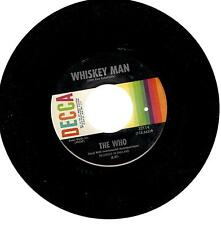 "The Who, Happy Jack/Whiskey Man ; 7"" 45 RPM Record"