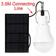 Mini 1.5W Solar Power LED Indoor/Outdoor Light Bulb Charged Lantern Hanging Lamp