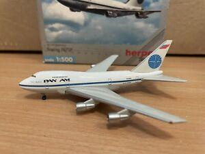 Pan Am 747SP 1:500 (Reg N530PA) 512244 Herpa Wings