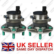 FORD FOCUS MK2 MK3 REAR WHEEL BEARING + HUB + ABS SENSOR PAIR (2x) 2004>ON