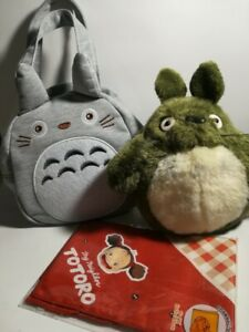 Totoro Lunch Bag &  Plush Doll Mei Lunch chief  Studio Ghibli New From Japan