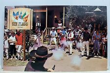 Texas TX Dallas Fort Worth Six Flags Shoot Out Postcard Old Vintage Card View PC