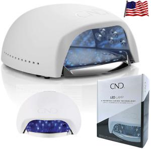 CND Professionnel 8G UV LED Lumière Lampe Gomme-Laque Gel Ongles Sec Séchoir