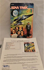 LEONARD NIMOY Signed Star Trek Mr. Spock 1979 Mego 3 3/4 Inch Figure JSA LOA