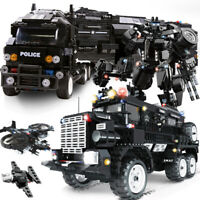 WOMA compatible legoed SWAT city police arms truck car sets model building kits