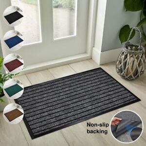Rubber Indoor Door Mats Large Runner Dust Barrier Outdoor Rugs Kitchen Floor Mat