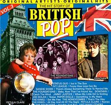 THE HIT STORY OF BRITISH POP Vol.3 (Kinks/Searchers/P.Clark/S.Shaw) Vinile=M  LP