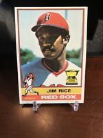 1976 Topps Jim Rice #340 Baseball Card Boston Red Sox