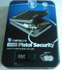 "844126006559 Fortress Revolver Pistol Security Case Child Safe 7 X 10 X 2.2 """
