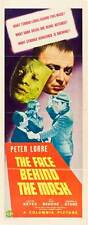 THE FACE BEHIND THE MASK Movie POSTER 14x36 Insert Peter Lorre Evelyn Keyes Don