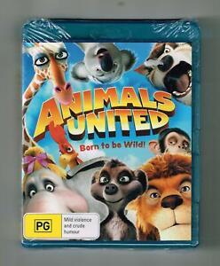 Animals United Blu-ray - Brand New & Sealed