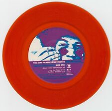 "Jimi Hendrix Orange Vinyl 7"" ""Can You Please Crawl Out The Window?"" MCA 54547,NM"