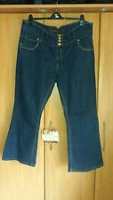 "L@@K YES YES @ NEW LOOK PLUS SIZE 24/30"" LEG  BOOTCUT JEANS WITH STRETCH"