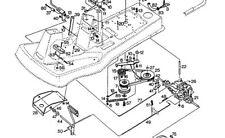 STIGA GARDEN 600 800E MOWER DRIVE BELT 1134-9013-01/9585-0057-00