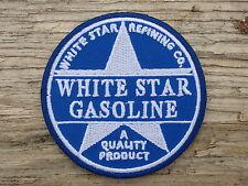 ECUSSON PATCH THERMOCOLLANT aufnaher toppa WHITE STAR GASOLINE texaco chevron