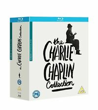 """THE CHARLIE CHAPLIN COMPLETE 11 FILM COLLECTION BOX SET 11 DISC BLU-RAY RB """"NEW"""""""