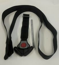 Baby Trend Flex Loc Infant Baby Car Seat Belt Straps Harness Chest Clip Black