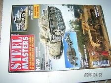 ** STEEL MASTERS n°49 Régiment infanterie coloniale du Maroc / SU76 A berlin